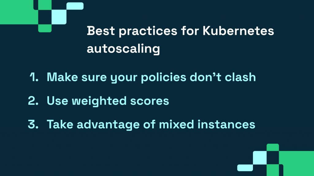 best practices for kubernetes autoscaling