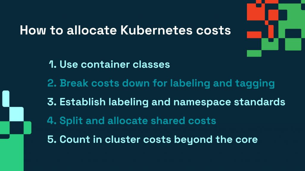How to allocate AWS Kubernetes costs